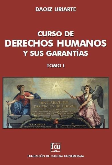 Tapa del libro: Curso de Derechos Humanos de Daoiz Uriarte