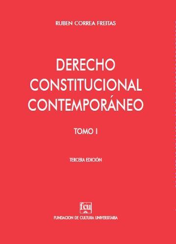 Tapa: Correa Freitas, Derecho Constitucuial Contemporáneo Tomo 1