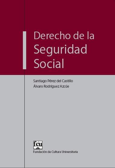 Tapa del libro Derecho de la Seguridad Social
