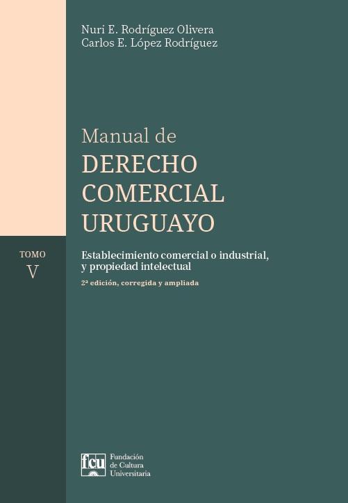Tapa del libro: Manual de Derecho Comercial