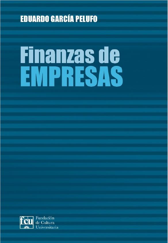 Tapa del libro: Finanzas de empresas